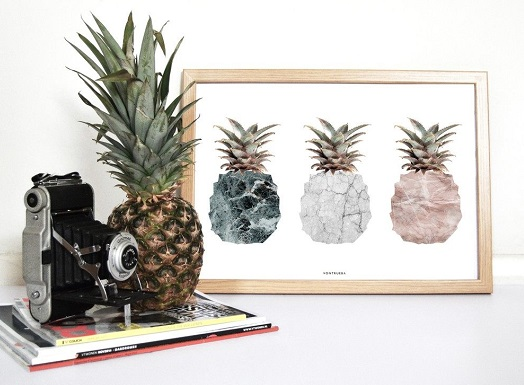 Home-Accessories-Art-amp-Prints-PINEAPPLES